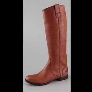 Madewell Archive Leather Boots 7 English Saddle